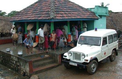La clinica mobile nel 2006