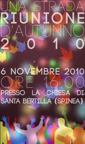 Banner della riunione d'autunno 2010