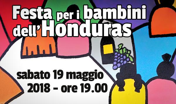 Festa bambini Honduras 2018