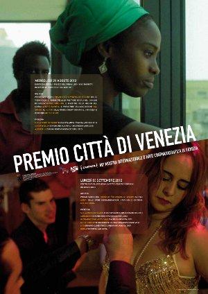 Premio Città Venezia 2012 - locandina