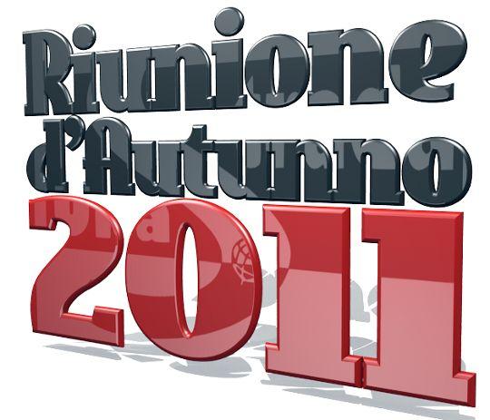 Riunione Autunno 2011